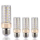 ILAMIQI Lot de 4 ampoules LED E27 à intensité variable, 10 W équivalent à 100 W,...