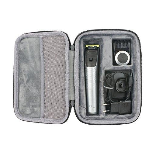 for philips oneblade pro hybrid trimmer shaver hard case. Black Bedroom Furniture Sets. Home Design Ideas