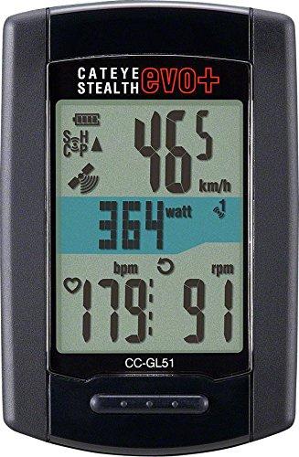 Cateye-Stealth Evo Plus Fahrrad Computer