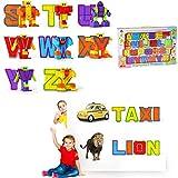 Baellar ABC Alphabet bot 26 Stück für Vorschule Kinder Pädagogische Spielzeug