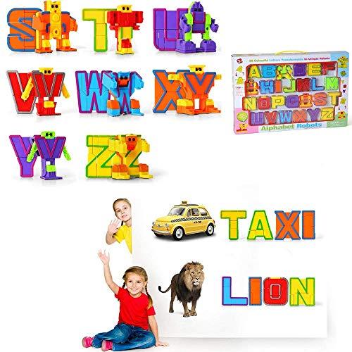 Baellar alfabeto ABC bot 26 piezas para niños preescolares...