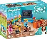 PLAYMOBIL 70121 Spirit-Riding Free Schulzimmer von Miss Flores, bunt