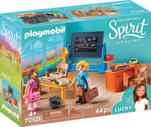 Playmobil - Mademoiselle Kate Flores et salle de classe  - 70121