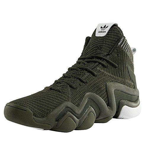 Adidas Crazy 8 Schuhe (adidas Herren Crazy 8 ADV PK Fitnessschuhe, Grün (Carnoc/Carnoc/Ftwbla), 46 EU)