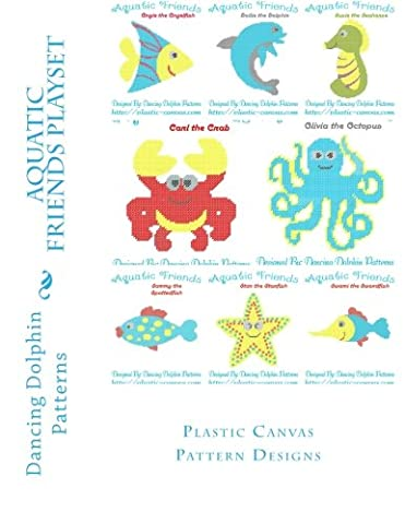 Aquatic Friends Playset: Plastic Canvas Pattern Designs
