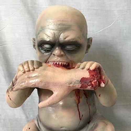 Room Escape Requisiten Horror Ghost Baby Ghost Doll Double Strange Kind Halloween Dekoration Ganzer Körper Scary,A2 (Halloween Körper)