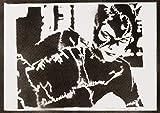 Póster Catwoman Grafiti Hecho A Mano - Handmade Street Art - Artwork