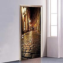Adesivi Vinile Per Porte.Amazon It Adesivi Effetto 3d Per Porta