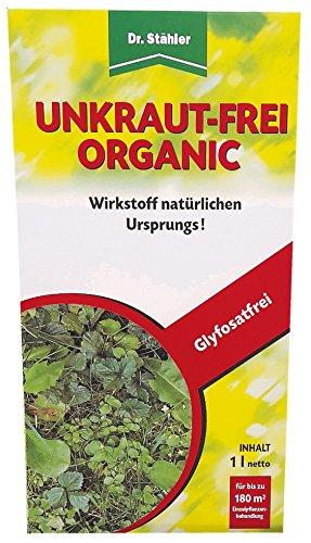 Dr. Stähler Unkraut-frei Organic 1 L glyphosatfreies Totalherbizid, Unkrautvernichter