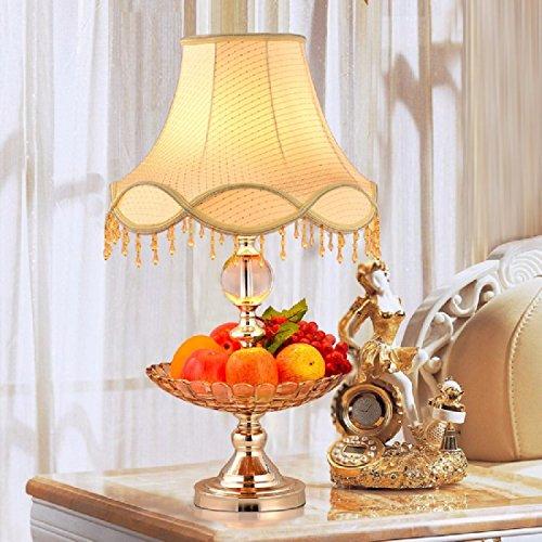 QHMC-In stile europeo moderno camera da letto semplice lampade, lampade