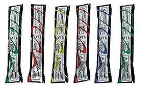 Bâtons lumineux de couleurs fluo - 1 pièces - Pour les fêtes, le trel, le camping, etc... - 8 à 12 heures - 15 cm de long
