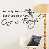 Romantic Diy Quote Wall Sticker