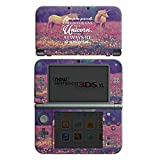 Nintendo New 3DS XL Case Skin Sticker aus Vinyl-Folie Aufkleber Einhorn Unicorn Sprüche