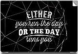 Run the Day Laptop Skins, Laptop Skin, L...