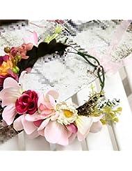 Couronne de mariée, coiffure, photographie mariage plage Sen accessoires féminins tête fleur