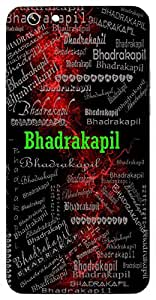 Bhadrakapil (Lord Shiva) Name & Sign Printed All over customize & Personalized!! Protective back cover for your Smart Phone : Samsung Galaxy A-5