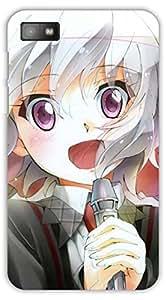 Crazy Beta Chris yukine cartoon girl design Printed mobile back cover case for Blackberry Z10