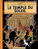 les aventures de tintin le temple du soleil edition fac simil? en couleurs