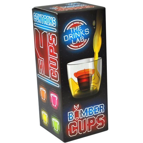 k - Perfect Gift For Jager Bomb Lovers - UV Neon Middle Chambers (NEW PACKAGING) by The Bomb Cup Shop (Jager Bomb Cups)