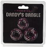 Toyz4Lovers Kit Anelli Fallici Be On The Ball Dandy'S Bangle, Pink - 3 Pezzi immagine