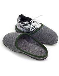 Sur-chaussons d'Intérieur pour Chaussures avec Semelles en Caoutchouc