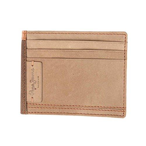 Pepe Jeans Denver Porte-Carte de Crédit, 10 cm, Marron 7580452