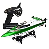 Best Green Toys Remote Control Boats - CSFLY Rc Boat 4CH 2.4Hz Remote Control Rechargeable Review
