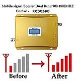 Lintratek Aluminium Dual Band LED Dispaly GSM 900-1800mHZ Mobile Signal Booster Full Kit