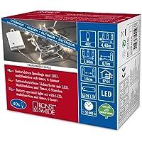 Konstsmide 3724-103 - Catena luminosa LED con interruttore on/off e