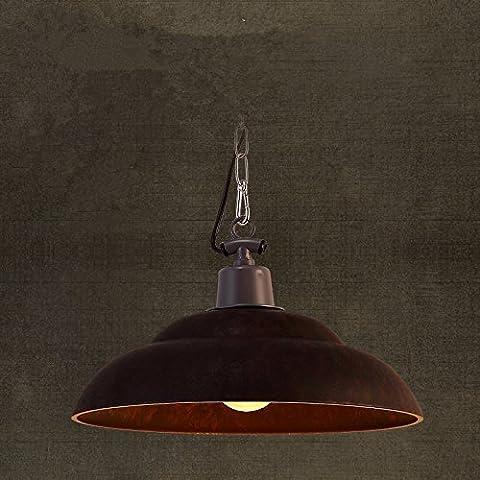 SJUN Lampadari Moderni Di Stile Minimalista, Lampadario In Ferro D'Epoca Soggiorno Americano