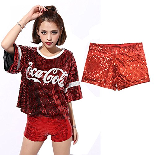 Babyicon - Short - Femme red