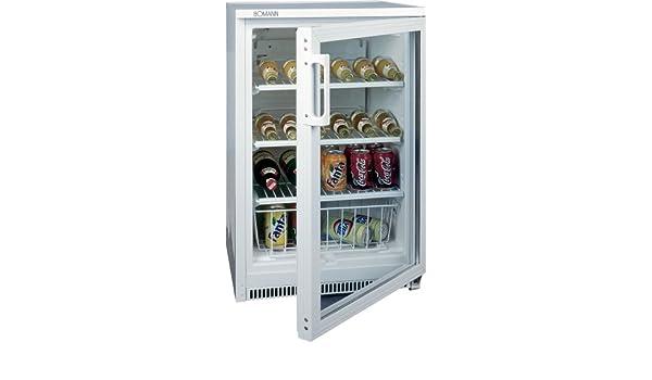 Bomann Kühlschrank Flaschenhalter : Bomann ksg 136 glastür kühlschrank: amazon.de: elektro großgeräte