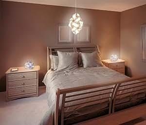 Puzzle Lampe / Deckenlampe / Hängeleuchte 30 Puzzleteile XL (ca. 45 cm)