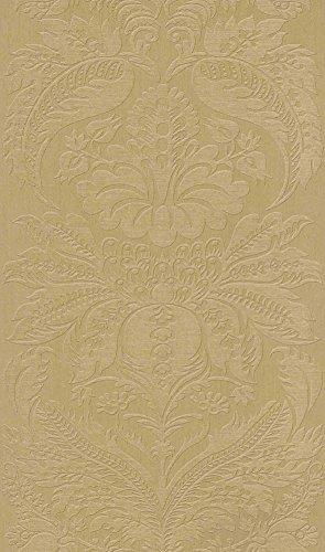 tapete-schlosswand-uni-gold-53cm-x-1005m-vinyltapete-rapportversatz-4500-cm-hoch-waschbestandig-lich