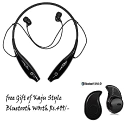 Defloc LG Compatible Ceritfied HBS-730 TONE+ WIRELESS BLUETOOTH HEADSET WITH MIC(Assorted Color) with FREE GIFT