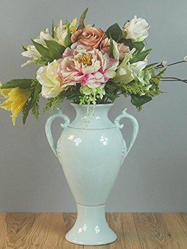 chen Stil Keramik-Vasen Blau Kunsthandwerk Kreativ Antike Tun Die Alten Klassisch Amphoren Zu Hause Dekorationen Geschenke ()