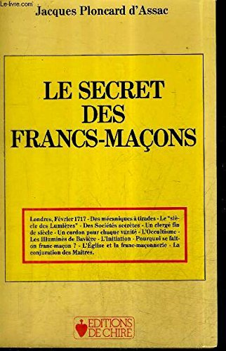 Le secret des francs-maçons par Jacques Ploncard d'Assac