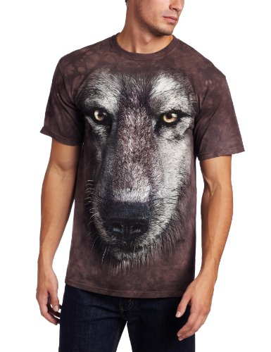 The Mountain Maglietta Wolf Face Anima Adulto Unisex M