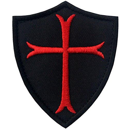 Caballeros Templarios Escudo cruzado Militar Moral