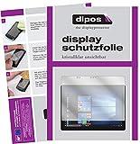 dipos I 2X Schutzfolie klar passend für Dell Latitude 5285 Folie Displayschutzfolie
