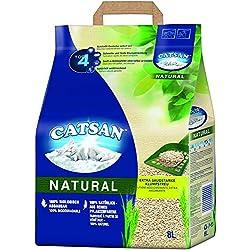 Catsan 4008429117138 Litière pour Chat Natural 8 l
