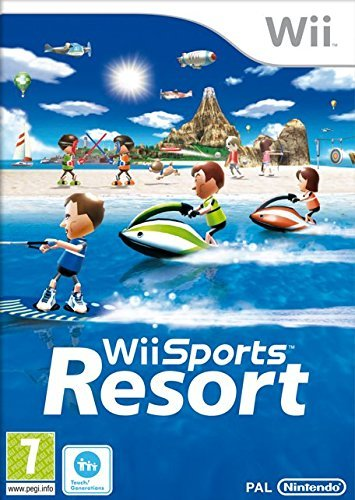 Wii Sports Resort inkl. Wii Motion Plus - UK (Wii) Z2 lose (Wii-spiel-sport)