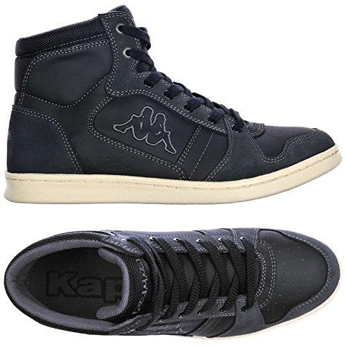 Kappa , Baskets pour homme - Black-Dk Grey