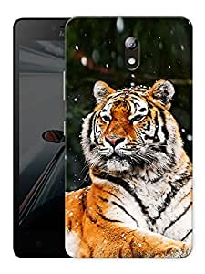 "Humor Gang Tiger Sitting Printed Designer Mobile Back Cover For ""Lenovo Vibe P1m"" (3D, Matte Finish, Premium Quality, Protective Snap On Slim Hard Phone Case, Multi Color)"