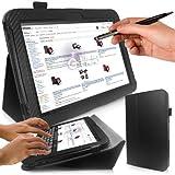 G-HUB PropUp Tablet-Schutzhülle, Pour NEXUS 10 (SAMSUNG), NOIR Fibre de Carbone