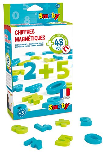 Smoby - 430101 - 48 Chiffres Magnétiques