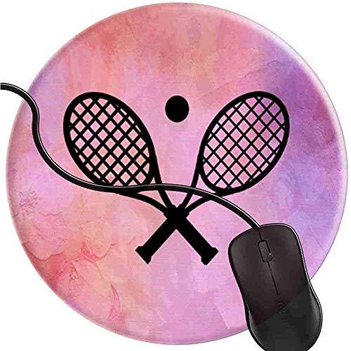 Raquetas Tenis Pelota Pretty Pink Alfombrilla ratón