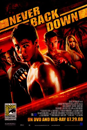 Never Back Down Plakat Movie Poster (27 x 40 Inches - 69cm x 102cm) (2008) B -