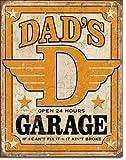 Dad's Garage Distressed Retro Vintage Ti...