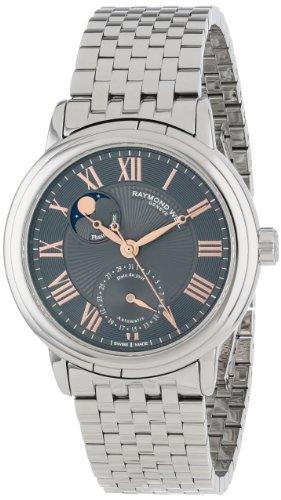 Raymond Weil 2839-ST5-00609 - Reloj para Hombres, Correa de Cuero